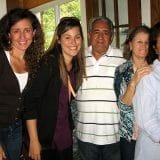 Com Andresa, os pais e a tia dela!