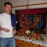 Mesa de Doces do Halloween no final do jantar!