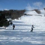 Marceu e Ju no snowboard
