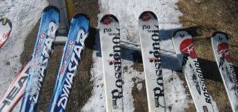 Os 4 esquiadores!