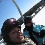 Josi e Gaby - parceiras do ski!