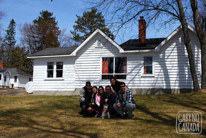Nós, os viajantes e nossa cottage