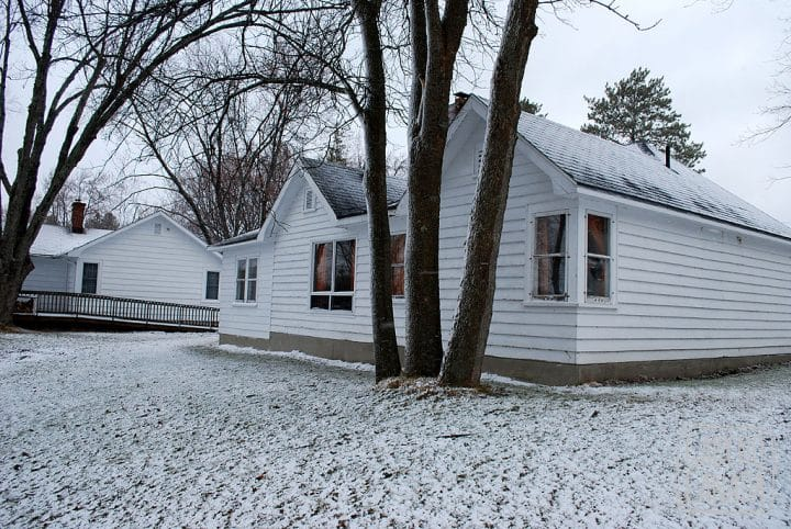 Domingo de manhã, -4C, 5 cm de neve!