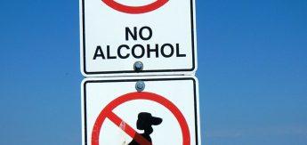 Cachorros e Bebida Alcóolica são proibidos