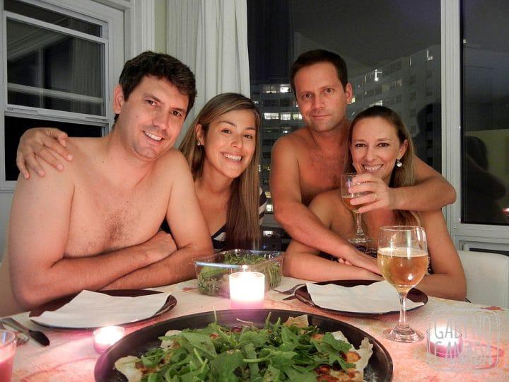 Noite especial com pessoas especiais
