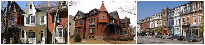 casas vitorianas em Toronto