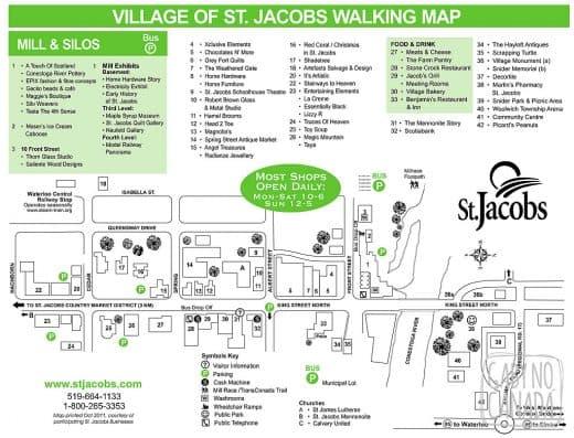 Village Walking Map October 2011 Inside.cdr